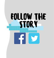 Follow our story on Social Media